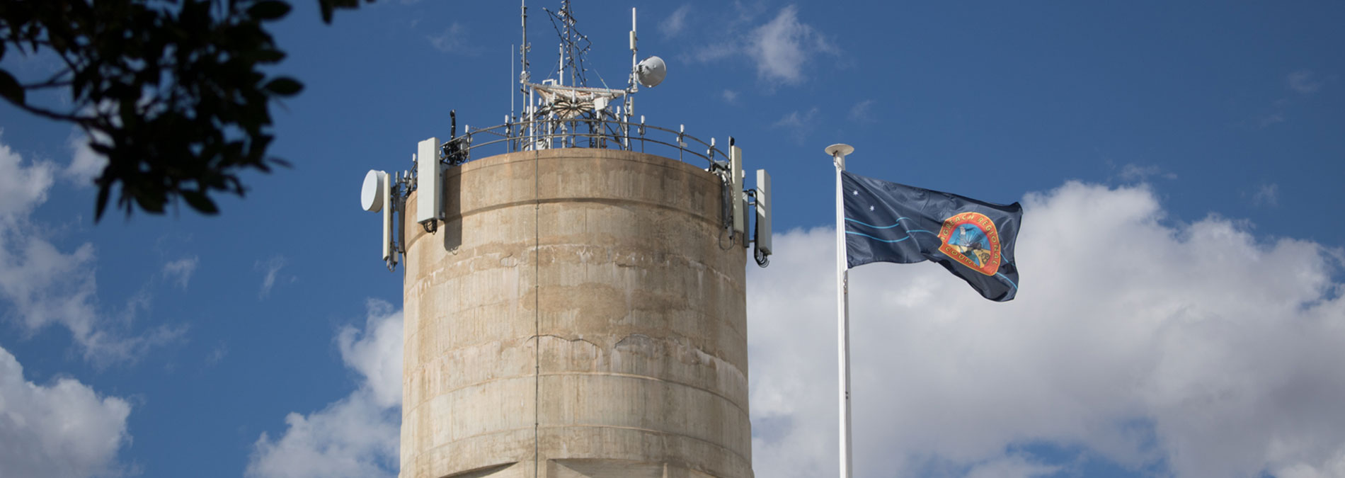 Image of a silo in Longreach